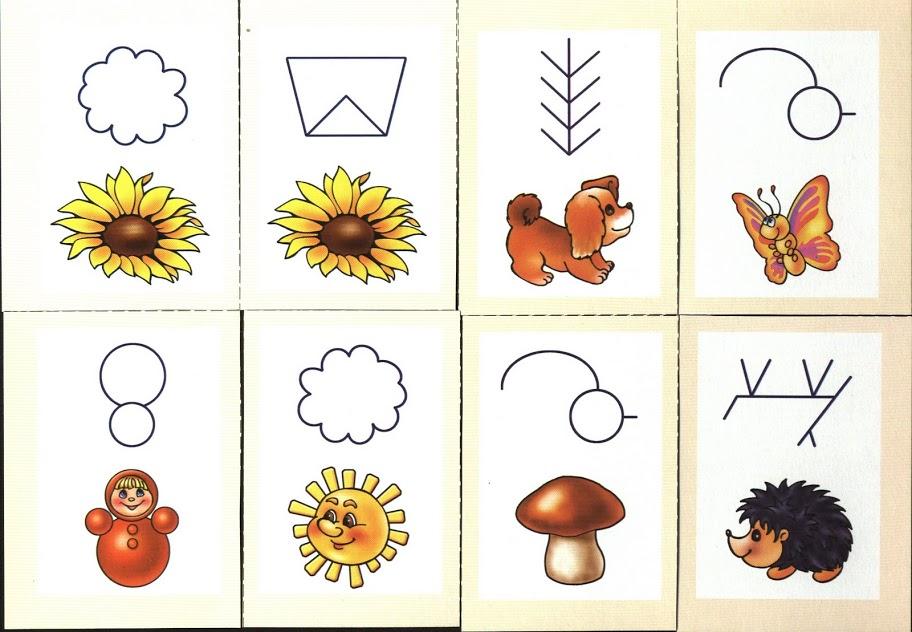 Карточки схемы по блоками
